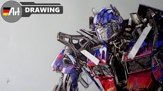 320x180 Speed Drawing Optimus Prime [Transformers 4] Music Jinni