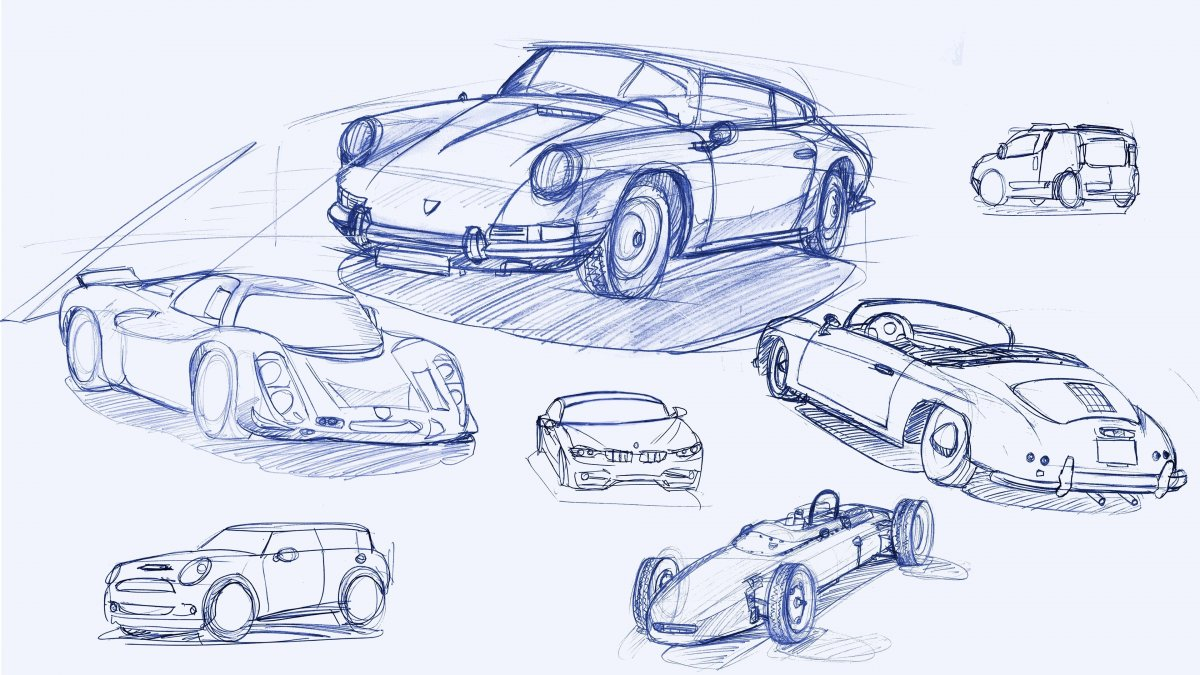 1200x675 Transportation Design Sketches