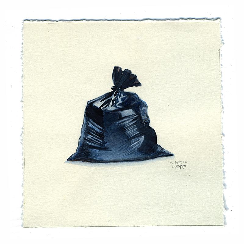 It is an image of Juicy Trash Bag Drawing