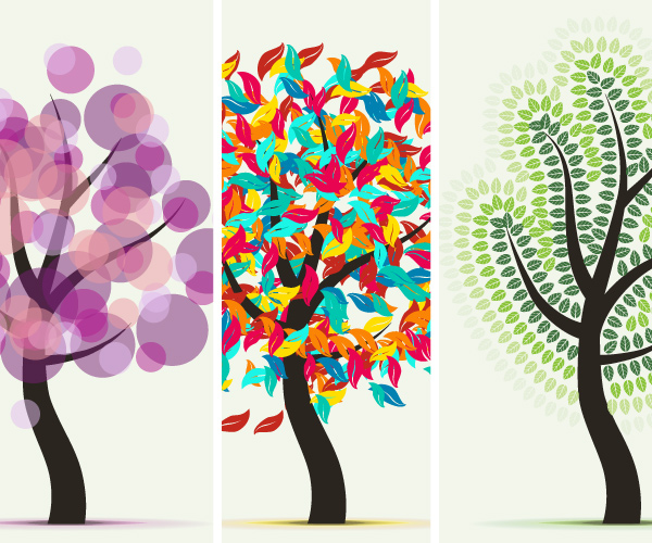 600x500 Learn More About Art And Scatter Brushes While Drawing Abstract Trees