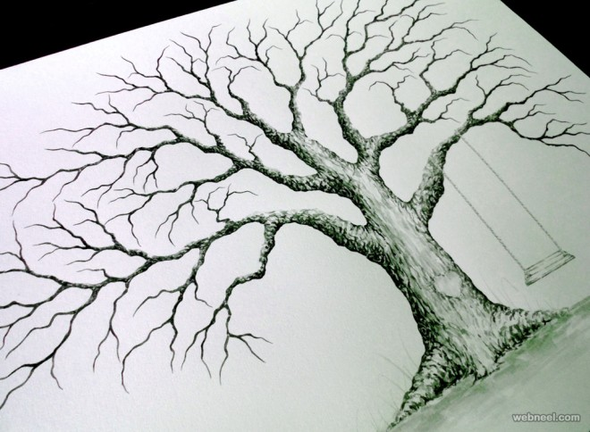 660x484 Tree Drawing By Lastingkeepsakes 5