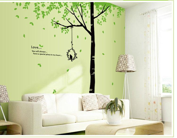 Tree Drawing On Wall at GetDrawings.com | Free for personal use Tree ...