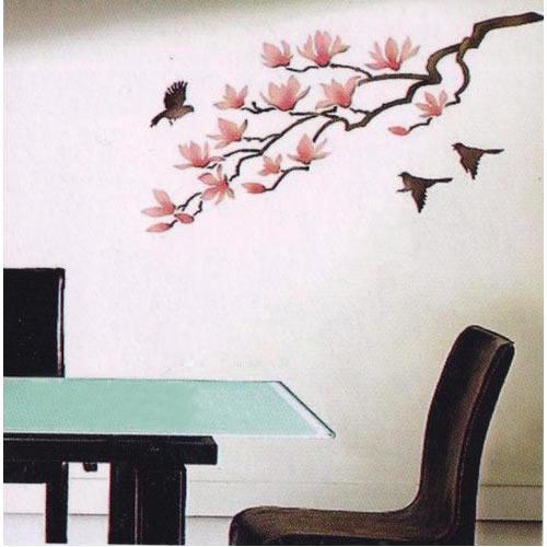 500x500 Modern Wallpaper Stencil Wall Stencils