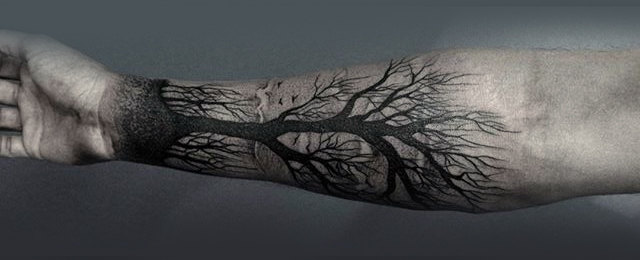 Tree Drawing Tattoo At Getdrawings Com Free For Personal Use Tree