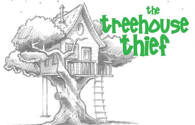 how to draw a treehouse step by step. Brilliant Draw 667x427 The Treehouse Thief Will Steal Your Heart Brand New Show Dons Throughout How To Draw A Step By