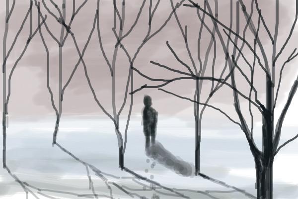 600x400 Tree Maze A Landscape Speedpaint Drawing By Sketchpad