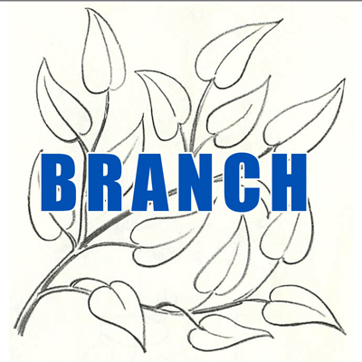 400x400 How To Draw Tree Branches Full Of Leaves Drawing Tutorial
