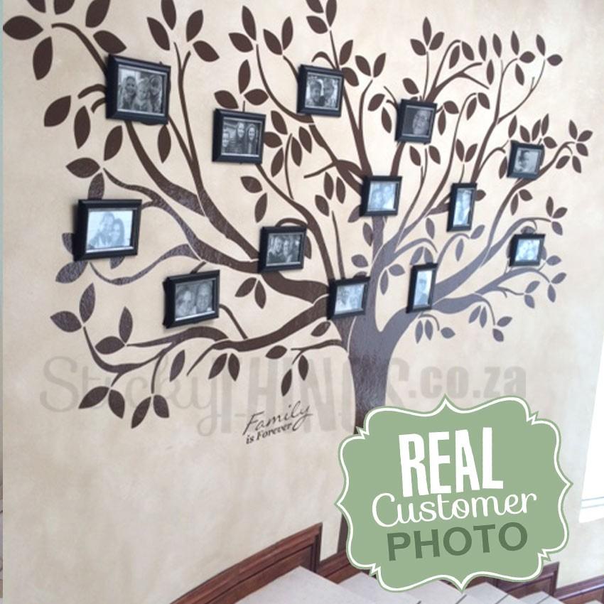 850x850 Family Tree Wall Art Decal