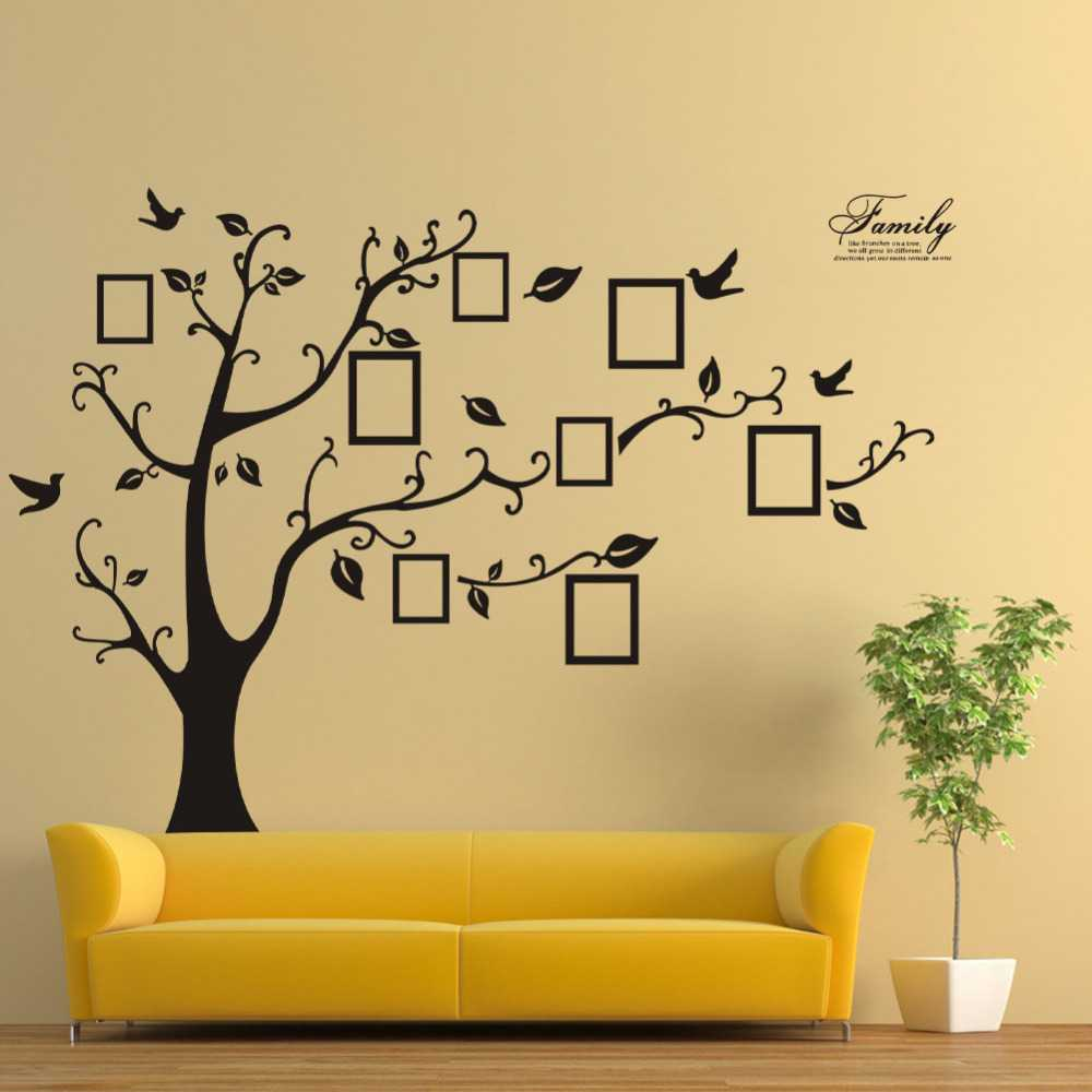 Tree On A Wall Drawing at GetDrawings.com | Free for personal use ...