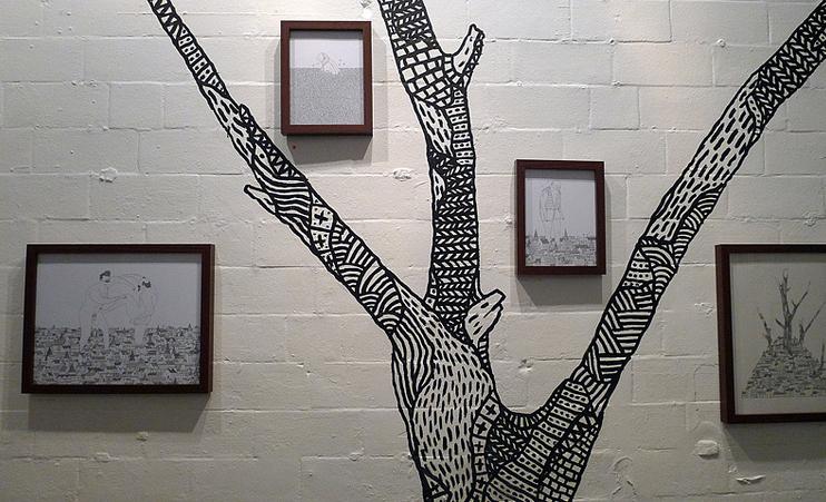 742x451 Wall Drawings