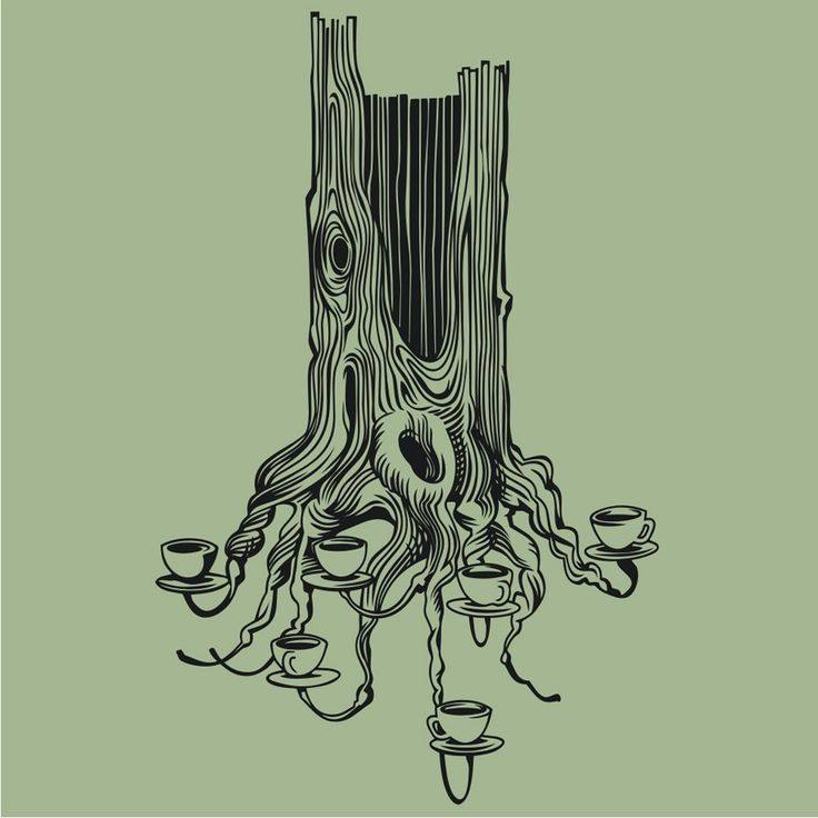 Tree Stump Drawing at GetDrawings   Free download