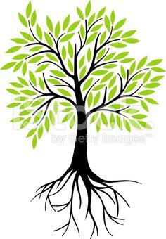 236x340 Tree Roots Sketch Treesa's Tree Decor For My Salon