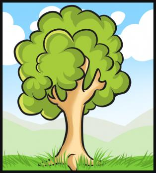 314x349 How To Draw How To Draw A Simple Tree
