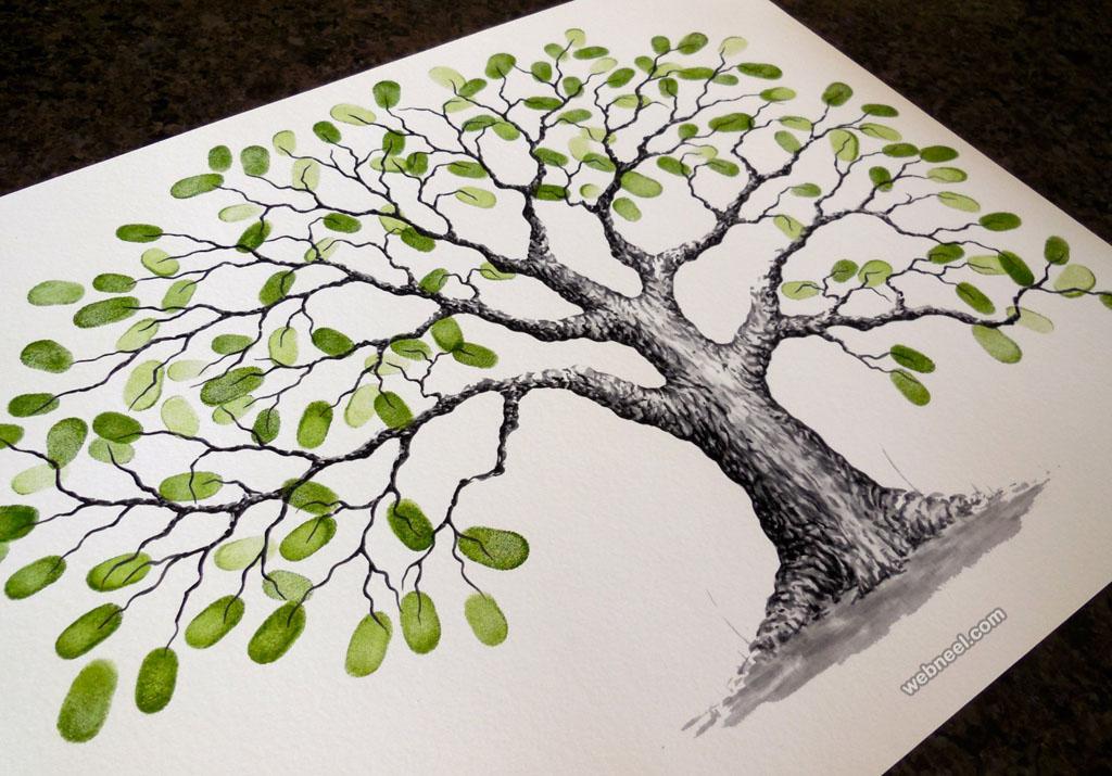 1024x715 Tree Drawing By Lastingkeepsakes 4