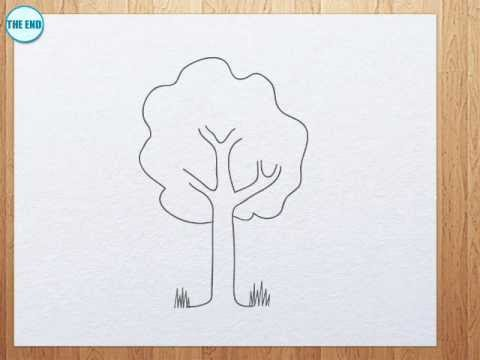 480x360 How To Draw A Tree For Kids
