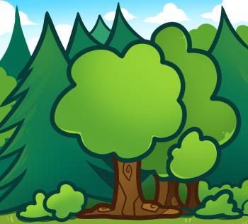 350x316 How To Draw How To Draw Trees For Kids