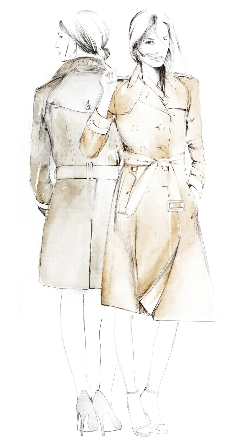 1000x1833 The Trench Coat Exhibition From Field To Fashion