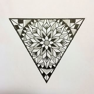 320x320 Pin By Kylie Moore On Tat It Up! Triangles, Mandala