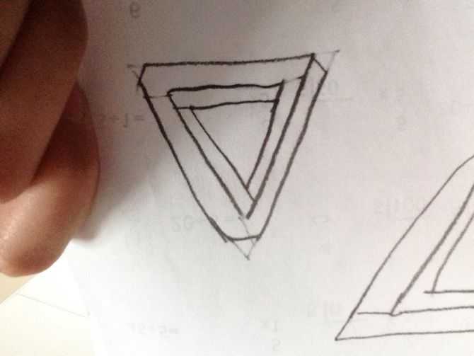 670x503 3 Ways To Draw An Impossible Triangle