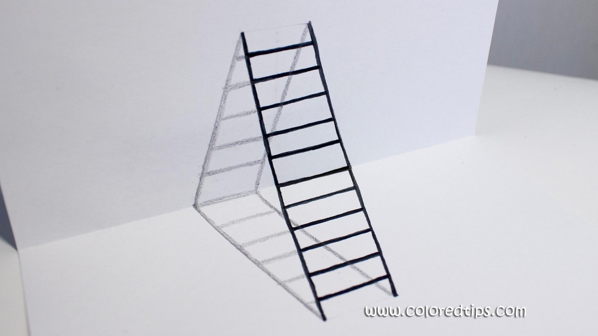 1920x1080 Diy 3d Ladder
