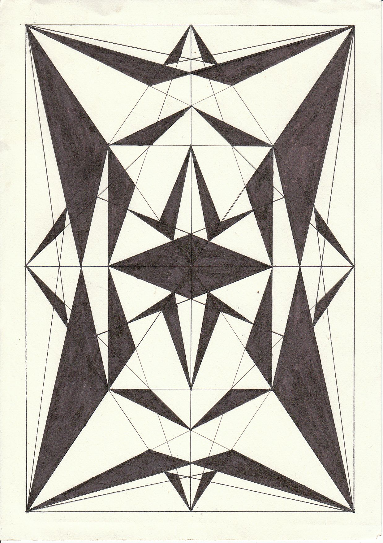 1238x1754 Triangles Drawing Etc. Etc. Etc.