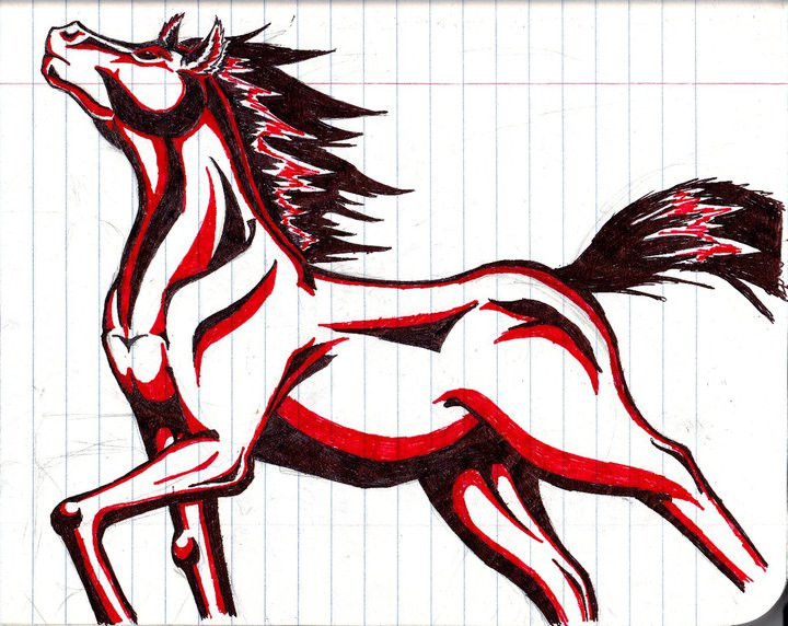 Tribal Animals Drawing At Getdrawings Com Free For Personal Use