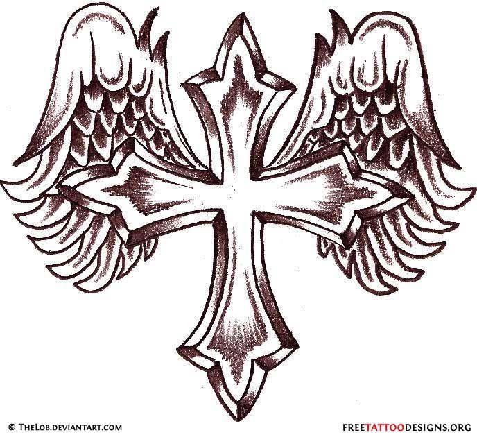 688x627 Holy Cross Tattoos 50 Cross Tattoos Tattoo Designs Of Holy