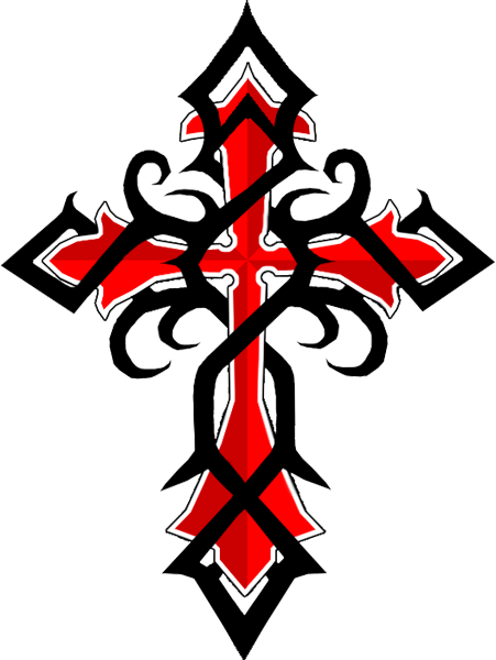 451x600 Cross Design Cross Tattoos For Men, Cross Tattoo Designs For Men