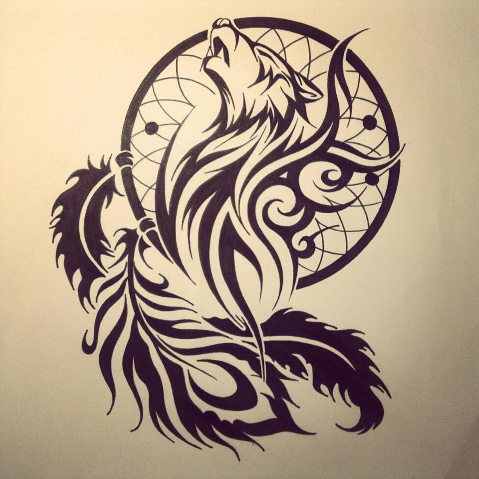 960x960 Tribal Wolf Tattoos Designs And Ideas