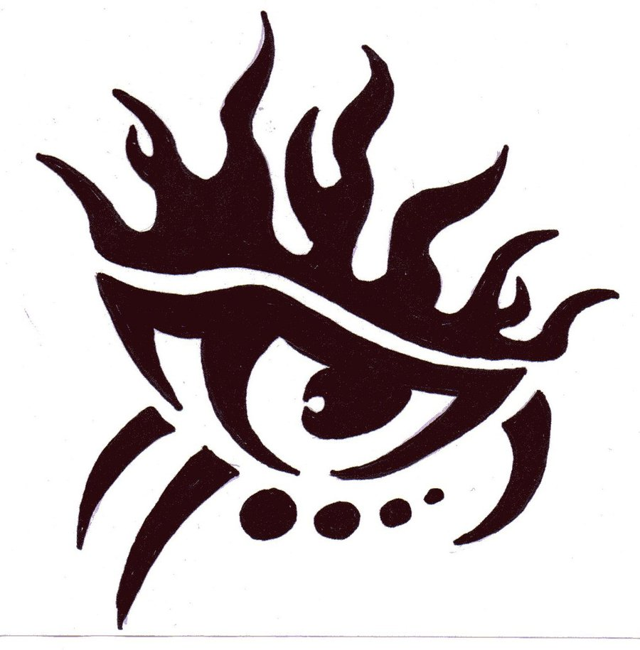 tribal flame drawing at getdrawings com free for personal use rh getdrawings com flammes tribal tattoo tribal flame tattoo pics