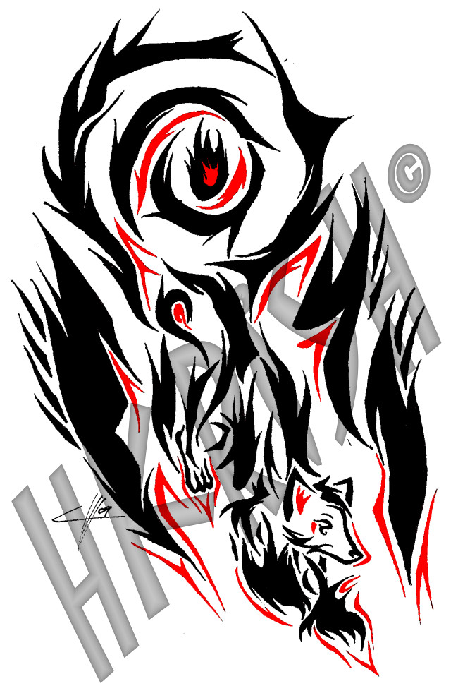 650x989 Tribal Fire Tattoo Designs Tribal Flame Tattoos Tribal Lion Tattoo