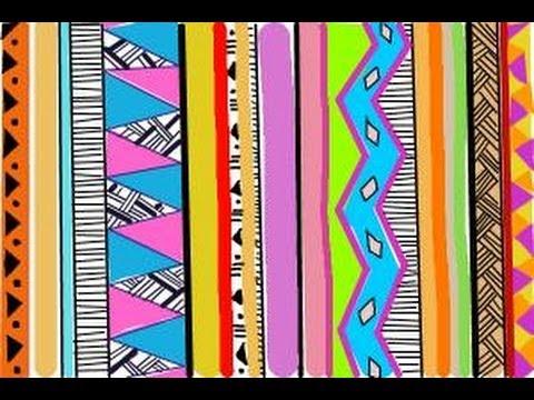 480x360 How To Draw Tribal Print
