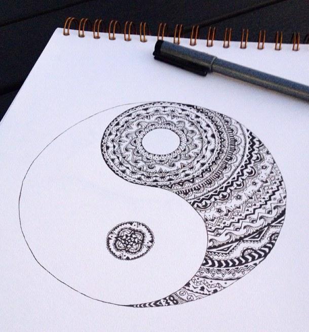610x656 Art, Black, Drawing, Drawings, Hipster, Pattern, Swag, Tribal