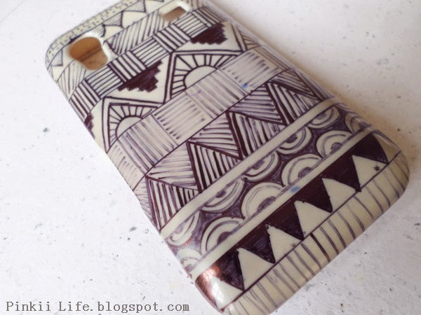 600x450 Diy Phone Cover Makeover! Tribal Pattern