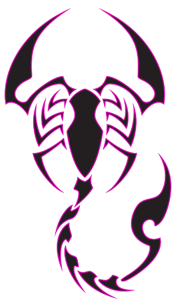 Tribal Scorpion Drawing At Getdrawings Com Free For Personal Use