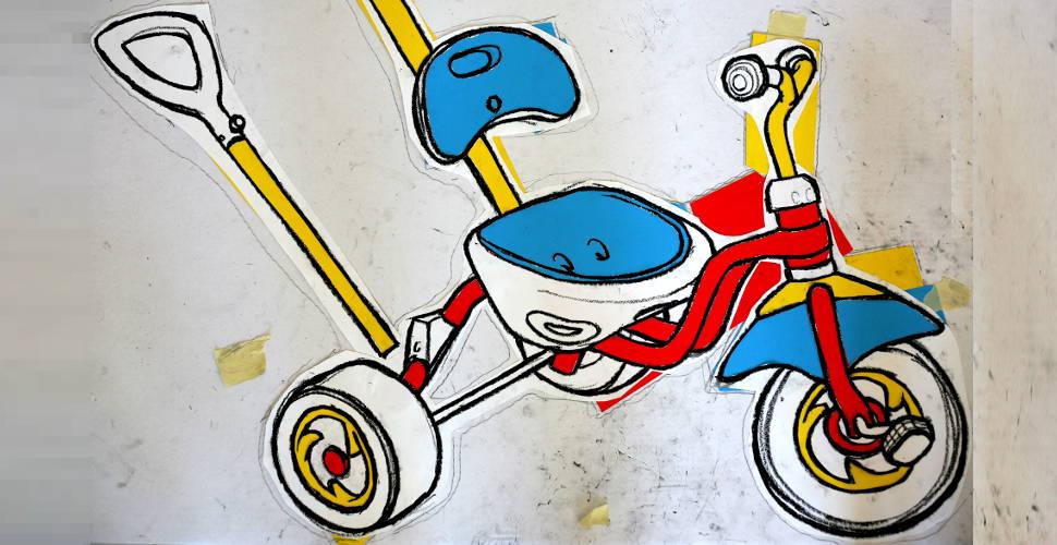 970x500 Berlin Tricycle Work In Progress Art By Paul Doeman
