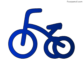 320x256 Fourpencil How To Draw A Tricycle For Kids