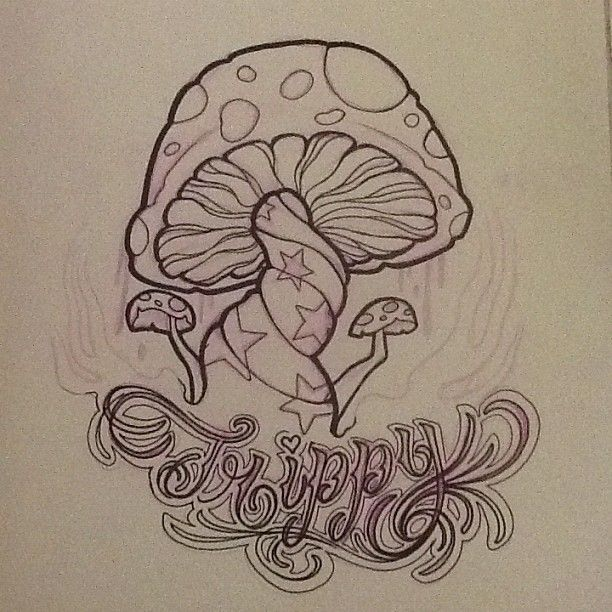 612x612 Art Heart Mushroom Trippy Wip Dontstealmyshit Sketch Coloring