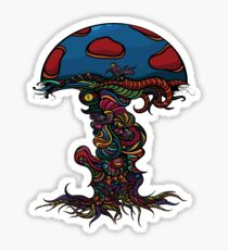 210x230 Trippy Shroom Drawing Stickers Redbubble