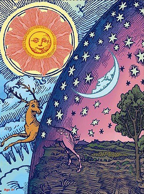 500x671 Spiritual Sun And Moon