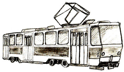 400x233 How To Draw A Trolley