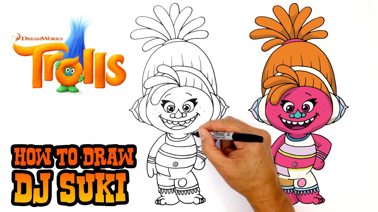 Trolls Drawing at GetDrawings.com | Free for personal use Trolls ...