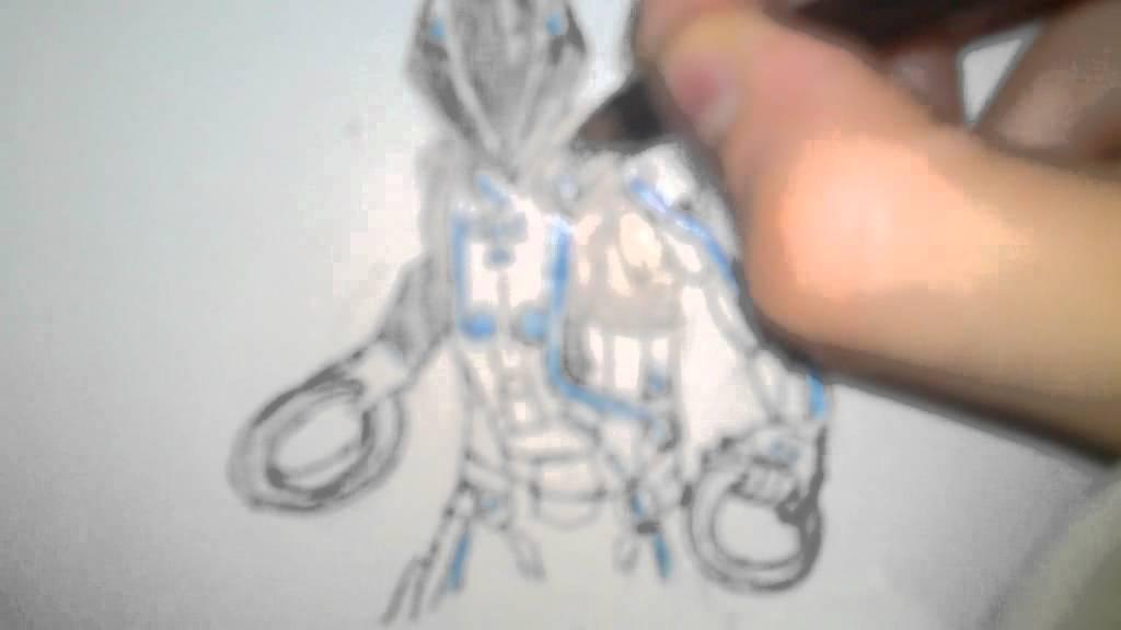 1024x576 Tron Drawing