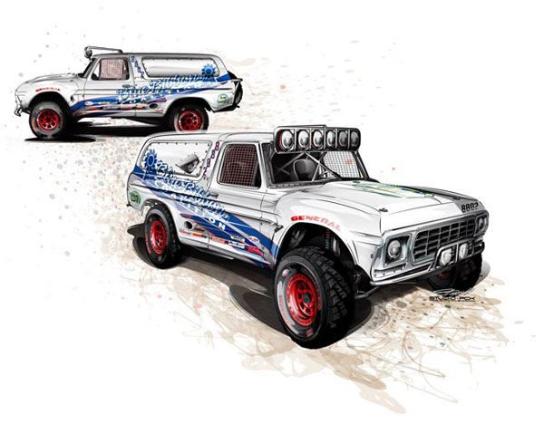 600x489 Bronco Rendering 4wd Amp Off Highway Vehicles