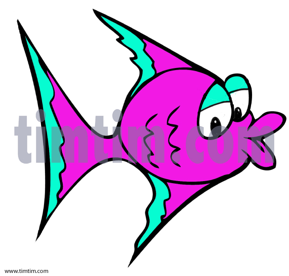 571x544 Free Drawing Of A Tropical Fish From The Category Fish