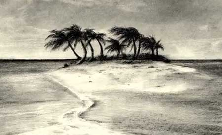 450x274 Tropical Island Speed Drawing