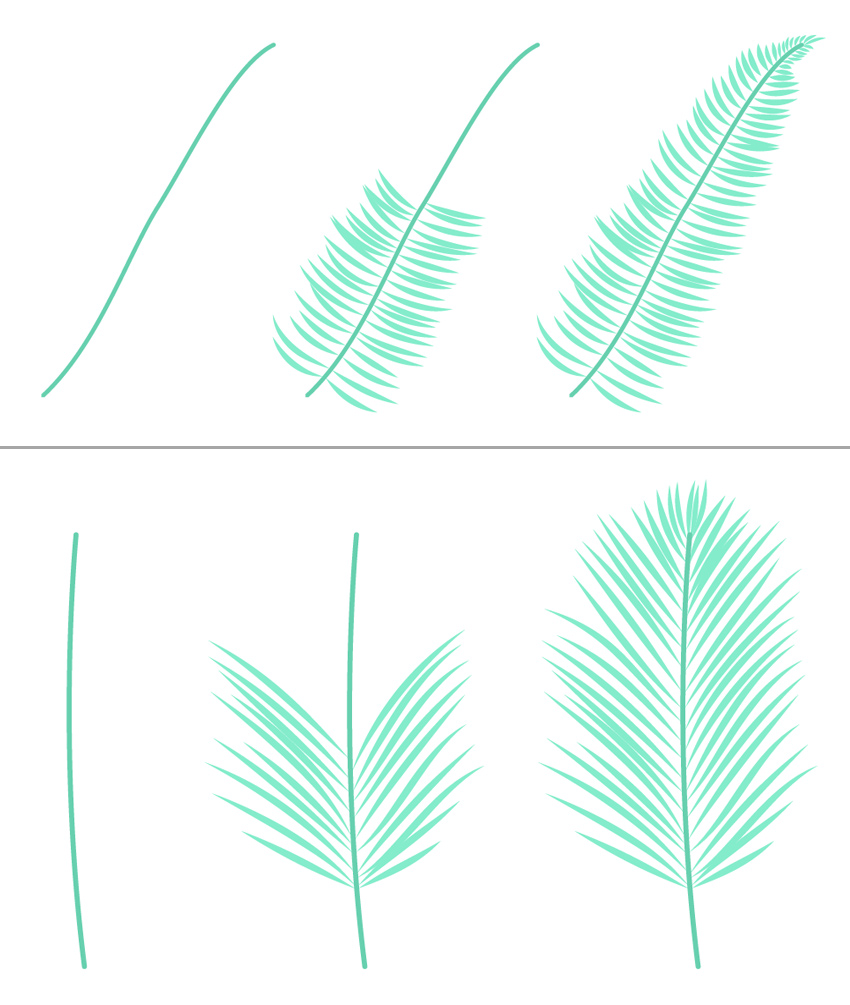 850x1005 How To Create A Tropical Pattern In Adobe Illustrator