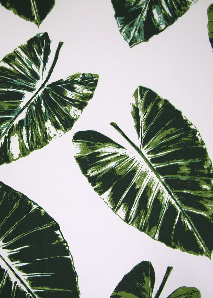 736x1030 Palm Leaves By Rose Cumming Print Amp Patterns Green