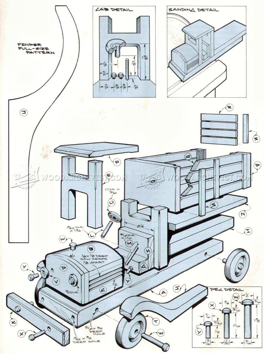 900x1204 Truck Crane Model Assembly 1e Wooden Trucks Plans Home Design Plan