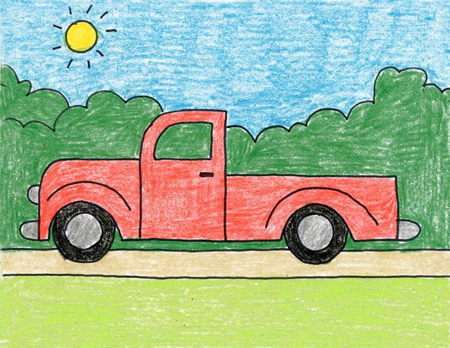 650x502 Pickup Truck